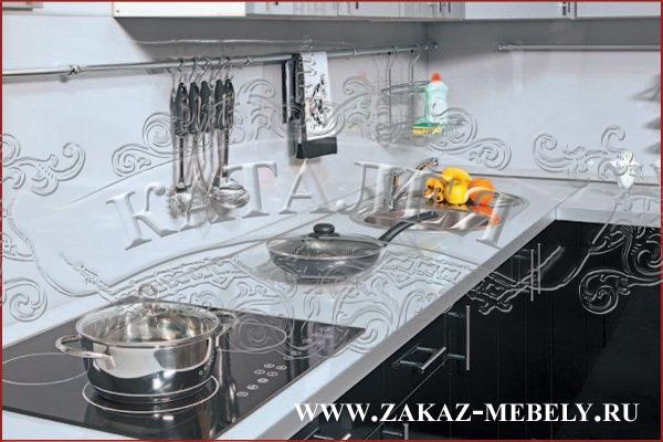 черные кухни фото