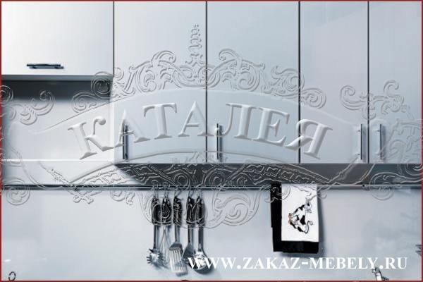 кухни бело черные фото